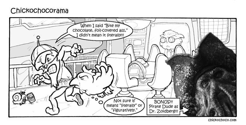 Sick leave non-update: Chickochocorama
